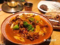 楼兰秘烤(七道湾店)的大盘鸡