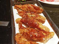 YK烧肉居酒屋(日月光店)的鸡皮饺子