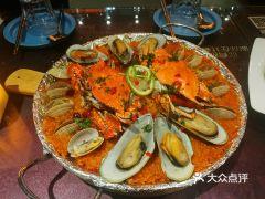 戴见海蒸汽海鲜自助餐厅(刘庄店)的螃蟹饭