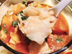 谷丽麦馕新疆餐厅(步步高梅溪新天地店)的汤面片