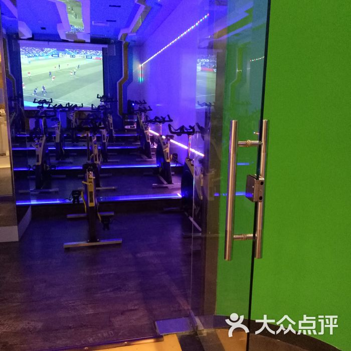 CK博志健身俱乐部飞轮教室图片-郑州私教工作