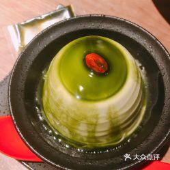 抹茶杏仁豆腐