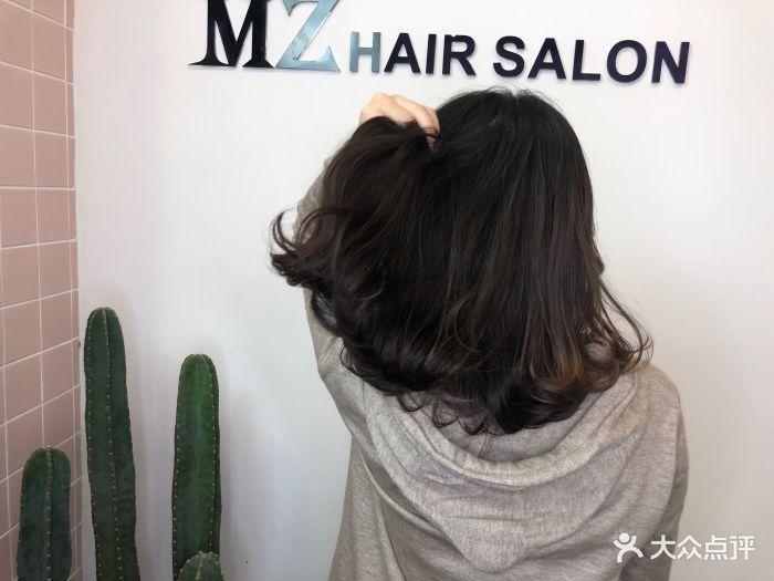 m·z hairsalon燙發染發接發(雙涵總店)中發圖片 - 第30張圖片