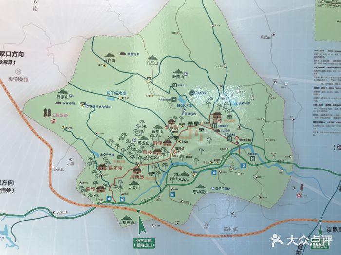 清西陵景区地图图片 - 第45张