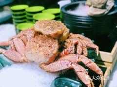 上隐水产海鲜刺身自助餐·甄选(淮海百盛店)的红毛蟹
