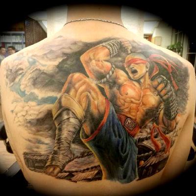 御墨堂刺青 色彩写实纹身款式图
