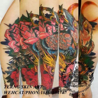 宁波工作室欧美包小臂纹身款式图