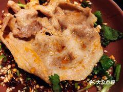 西川霸牛·四川清油麻辣火锅(长宁来福士店)的梅花肉