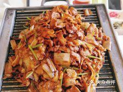 四季民福烤鸭店(故宫店)的烤羊肉
