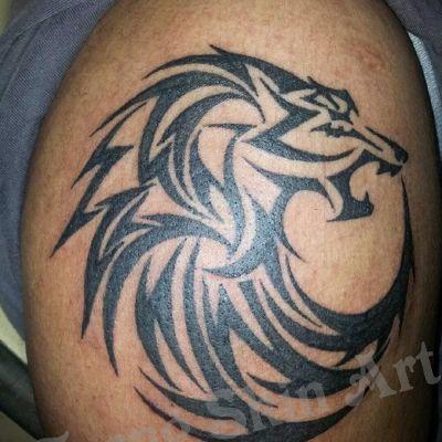 狼图腾纹身款式图