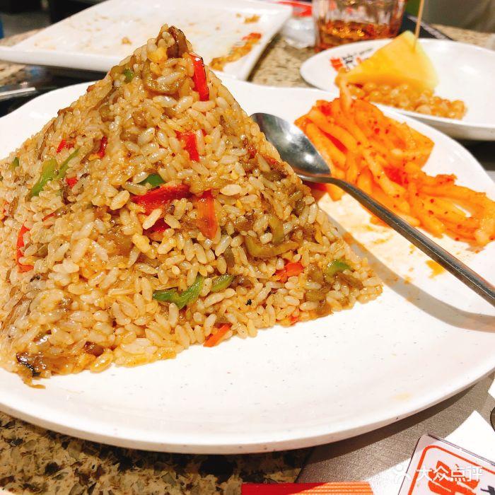 丰茂烤串(绿地和创店)茄子炒饭图片