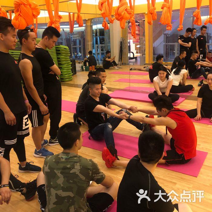 力时代健身学院健身教练培训班私教基础(拉伸