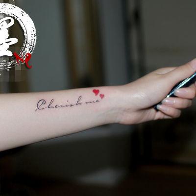 宁波店 字母纹身图