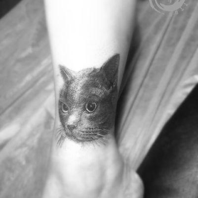 古龍老师写实作品纹身款式图