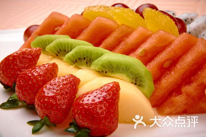 玫瑰&皇室西餐廳-水果拼盤-菜-水果拼盤圖片-上海美食