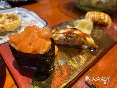 稻探食堂•沉浸式日料(钱湖天地店)的三文鱼寿司