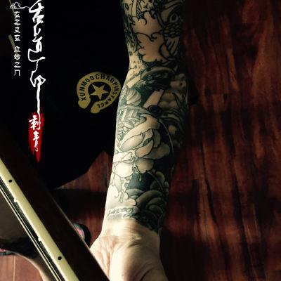 原创SCHOOL花臂纹身款式图