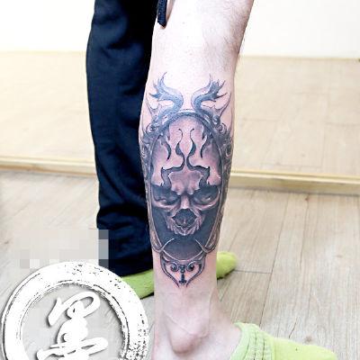宁波 骷髅纹身图