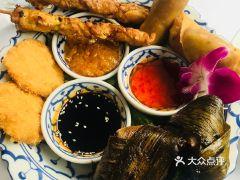 Thai gallery泰廊餐厅的小吃拼盘