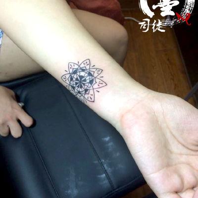宁波 雪花纹身图