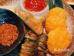火燒雲傣家菜(晶品店)的炸物拼盤