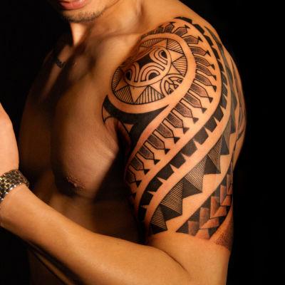 手臂图腾——老曹纹身款式图