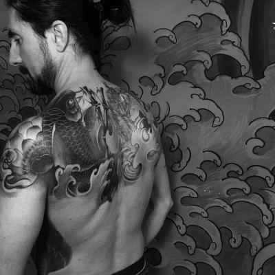 传统图——老曹纹身款式图