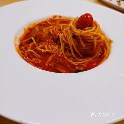 番茄罗勒意面