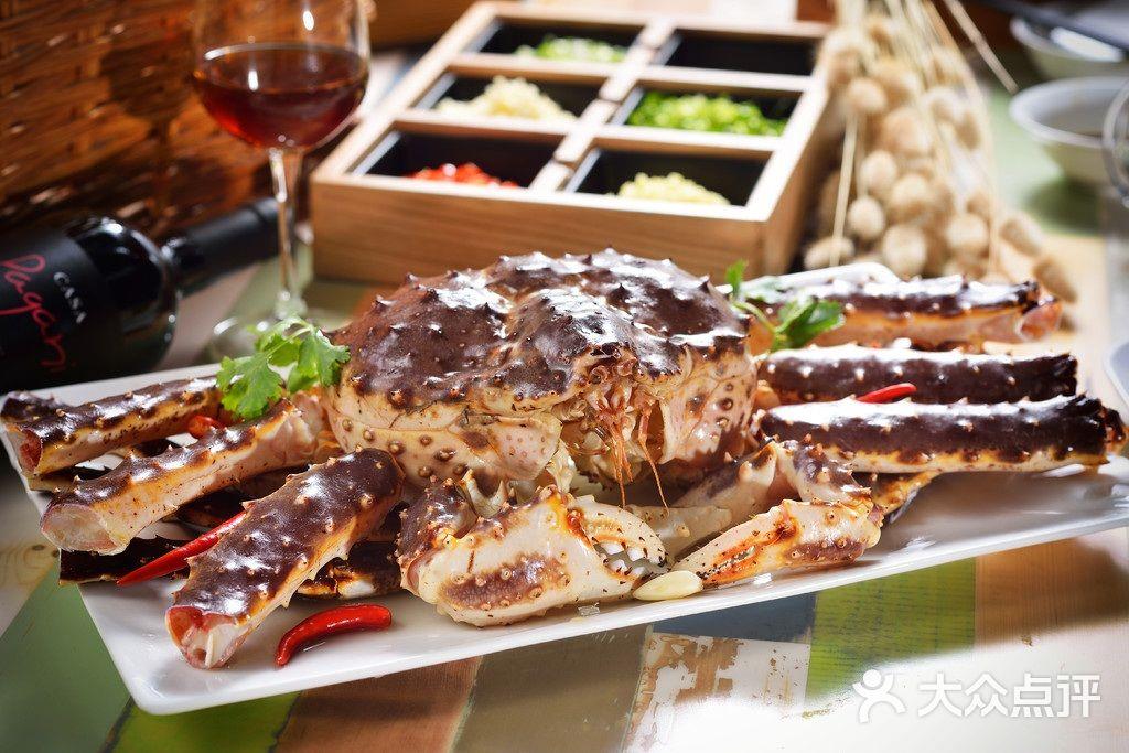 蒋勇家创意海鲜餐厅帝皇蟹图片 - 第5张