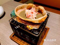 蟹道乐(道顿堀中店)的蟹盖烤蟹黄