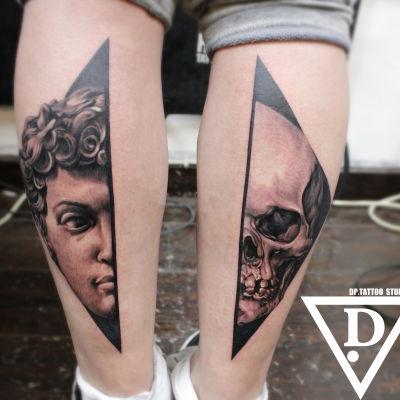 写实纹身图