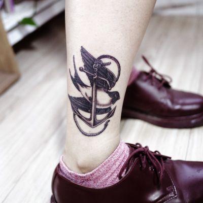 小清新纹身款式图