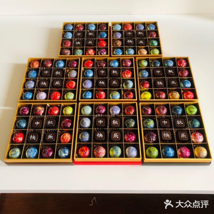 用纯手工巧克力讲述爱的故事