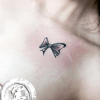 宁波 蝴蝶结纹身款式图