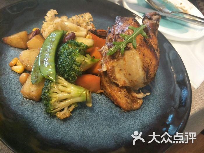 嫩鸡是无��la_目光la mirada 餐厅(国之宝艺术馆店)法式嫩烤春鸡图片 - 第5张