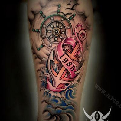 欧美作品纹身图